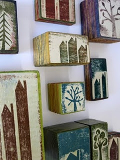 Prints on Wood - Fiona Wilson