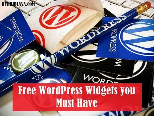 Top 20 Free #WordPress #Widgets you Must Have