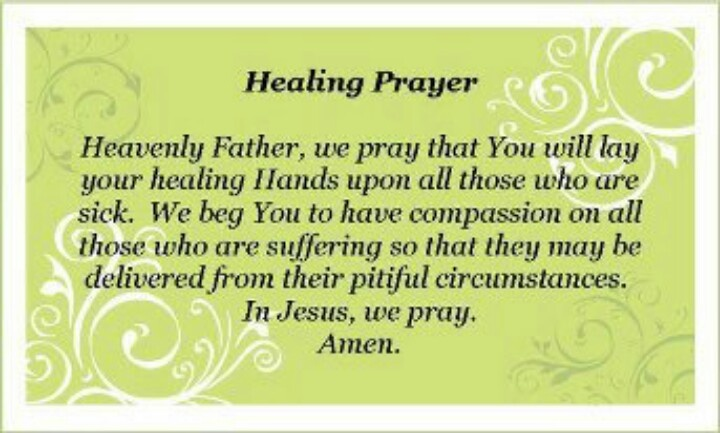 Pray For My Child Quotes: Healing Prayer- Watching Your Child Suffer In Pain And