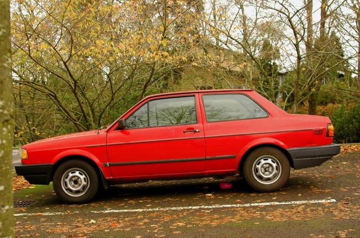 1990 VW Fox Wagon.  My second vehicle.  It got me through Dallas.
