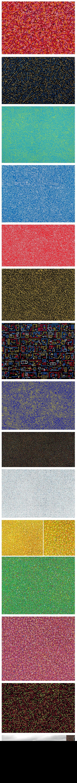 """Lu Xinjian est un artiste chinois qui s'inspire de vues aériennes de grandes villes du monde pour en faire des peintures abstraites. Utilisant des images de Google Earth, ces oeuvres tirées d'une série appelée """"City DNA"""" illustrent entre autres Paris, Milan ou Shanghai."""