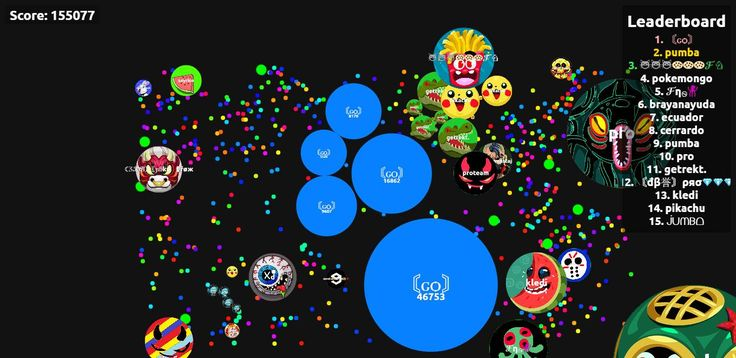 〘ԍѻ〙 have achieved the Agario private server! 155077 mass on agariohit.com - Player: 〘ԍѻ〙 / Score: 155077
