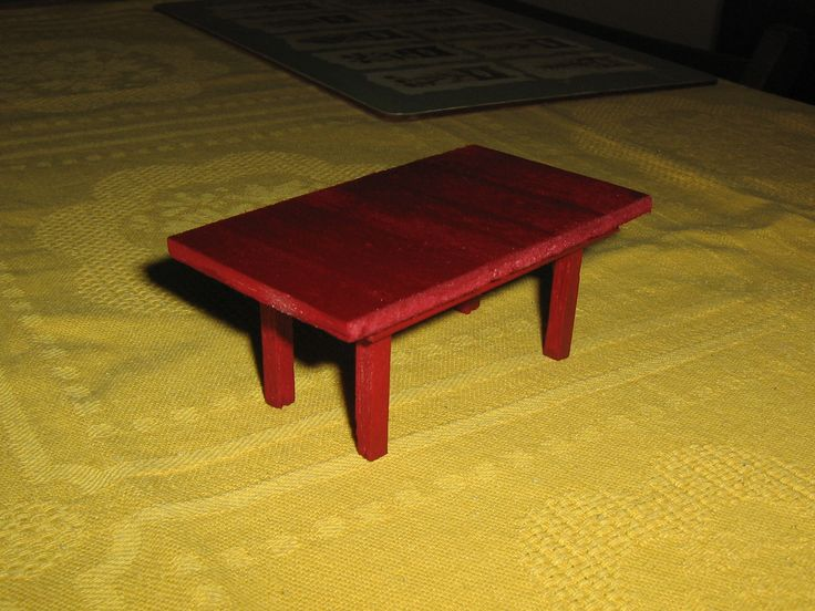my first table