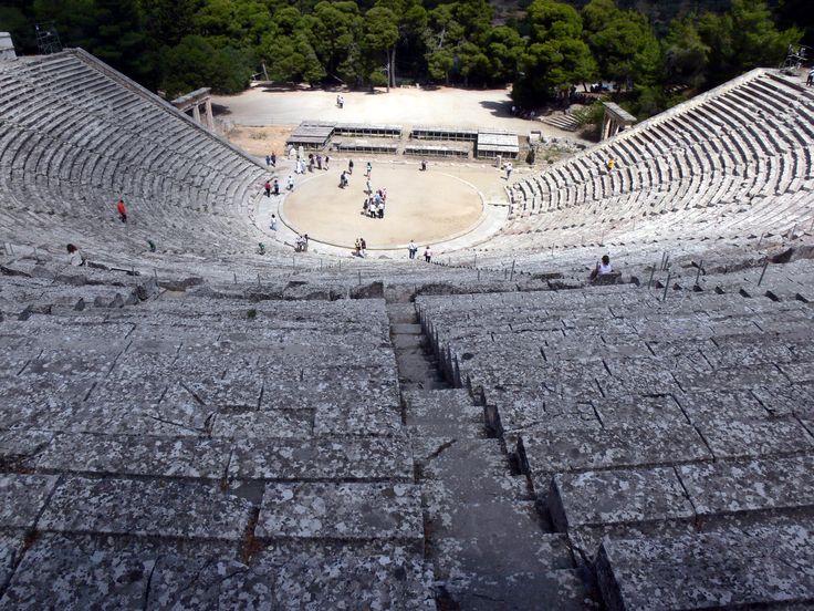Epidaurus Theater #Greece