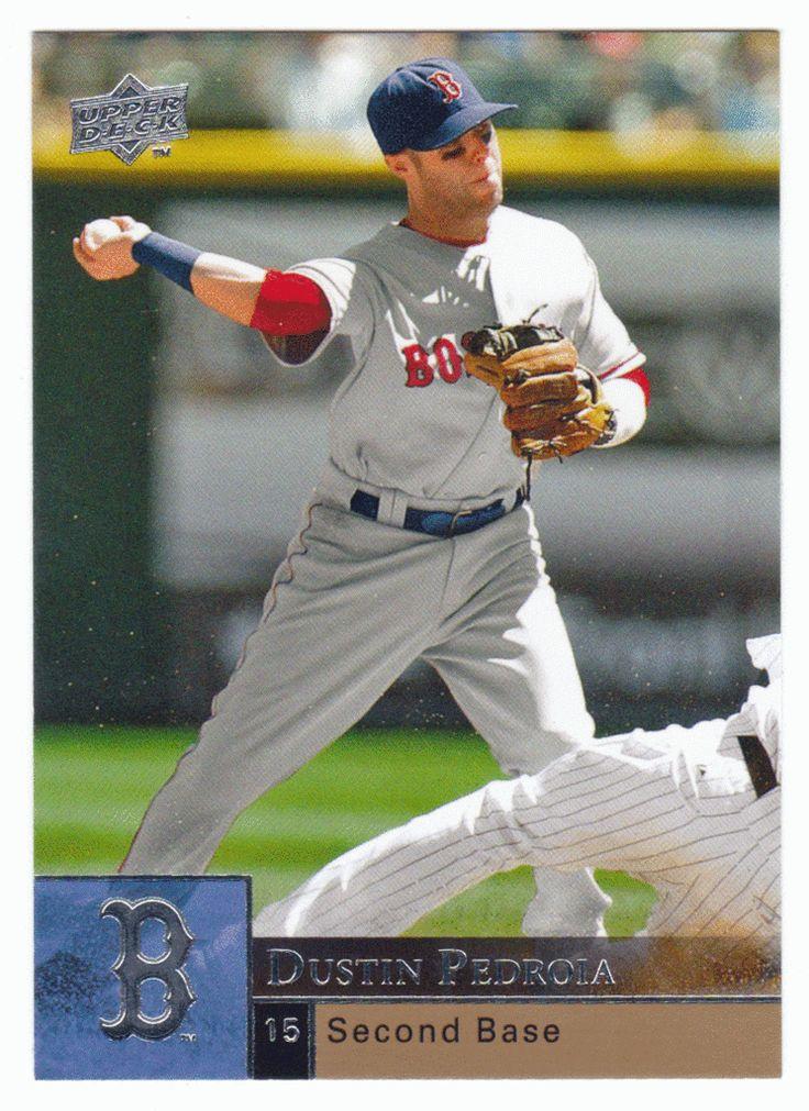 Dustin Pedroia # 49 - 2009 Upper Deck Baseball