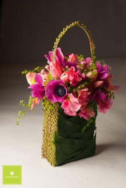 fun floral purse