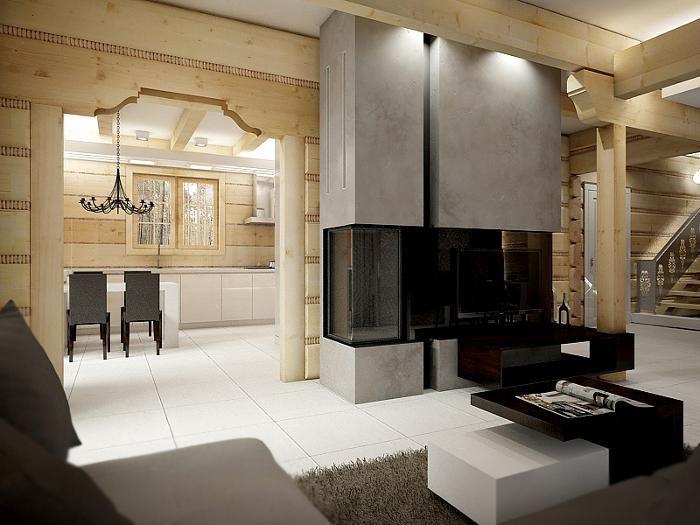 Aranżacja salonu wystrój klasyczny w kolorach szary, beż - projekt wnętrza #833636, Homplex