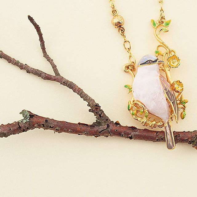✨  Sparrows    SS16 ✨ All of our Sparrow, Gold Crest & Kingfisher pieces have been hand painted with vibrant & detailed enamel...   #BillSkinner #Sparrow #birdjewellery #handpainted
