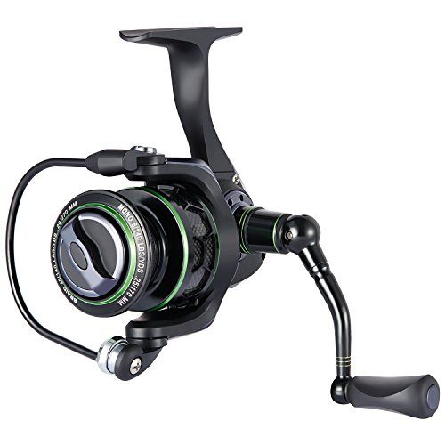 Piscifun NEW Spinning Reel Lightweight Smooth Fishing Reel 1000 Series 5.1:1 9+1BB 13.2LB Carbon Fiber Drag Spin Reels.