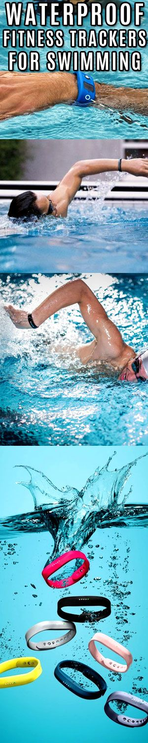 Track your swim sessions with waterproof wearable trackers