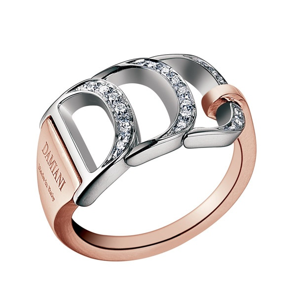 17 best images about damiani on pinterest pearl rings With damiani wedding rings