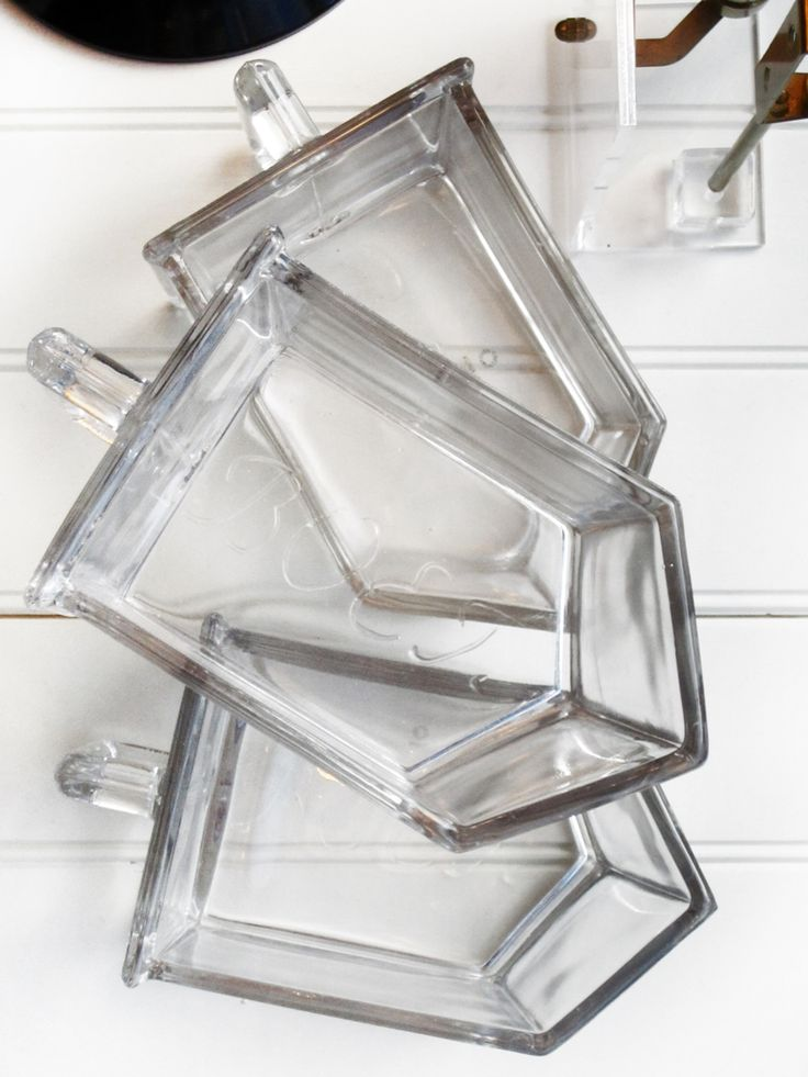 Glass drawers for kitchen