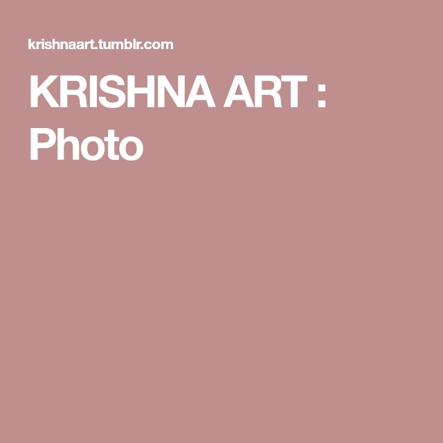KRISHNA ART : Photo