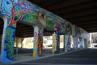 Pin by the naughton weekly examiner linkedin for Asheville mural project