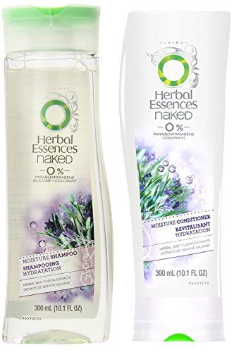 Herbal Essences Naked - 0% Paraben - Moisture Shampoo & Conditioner