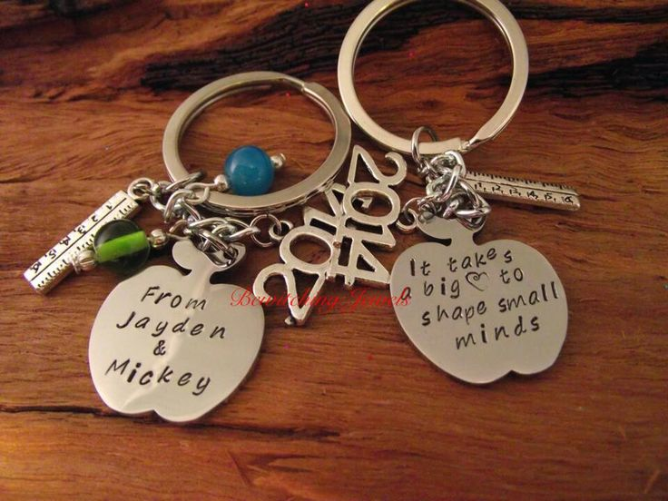 Teachers keychains Bewitching jewels