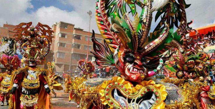 #Diablada de #Oruro