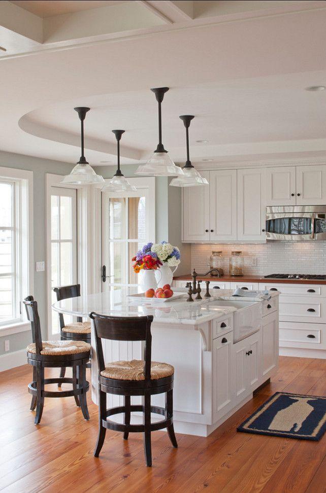 White Kitchen Cabinets Benjamin Moore Dove Oc 17