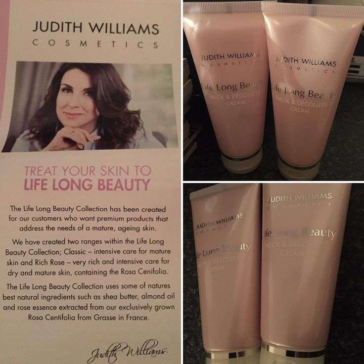 New goodies from @qvcuk  Judith Williams Cosmetics   Lifelong Beauty Neck & Décolleté Cream. Thought i'd try this love trying new Brands.  First application tonight smells lush and goes on easy.