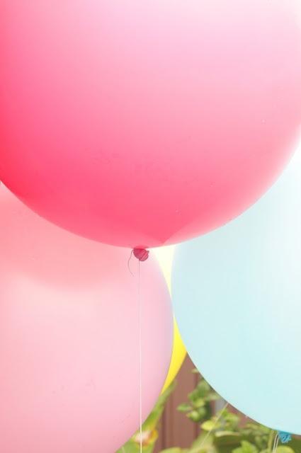 Preciosos globos grandes! / Lovely huge balloons!