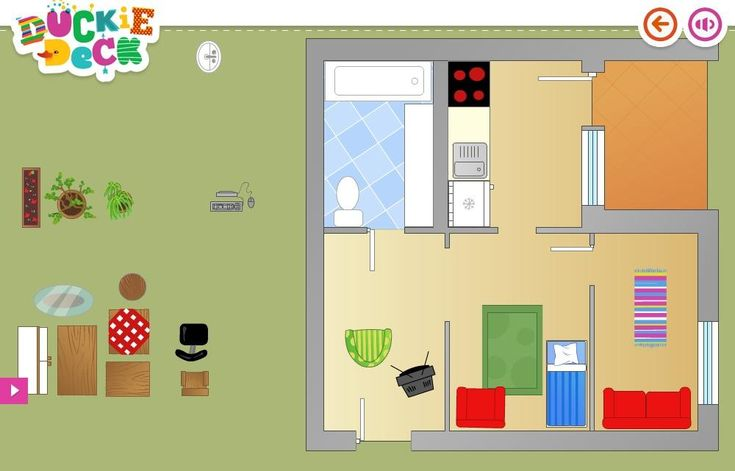House interior decoration games