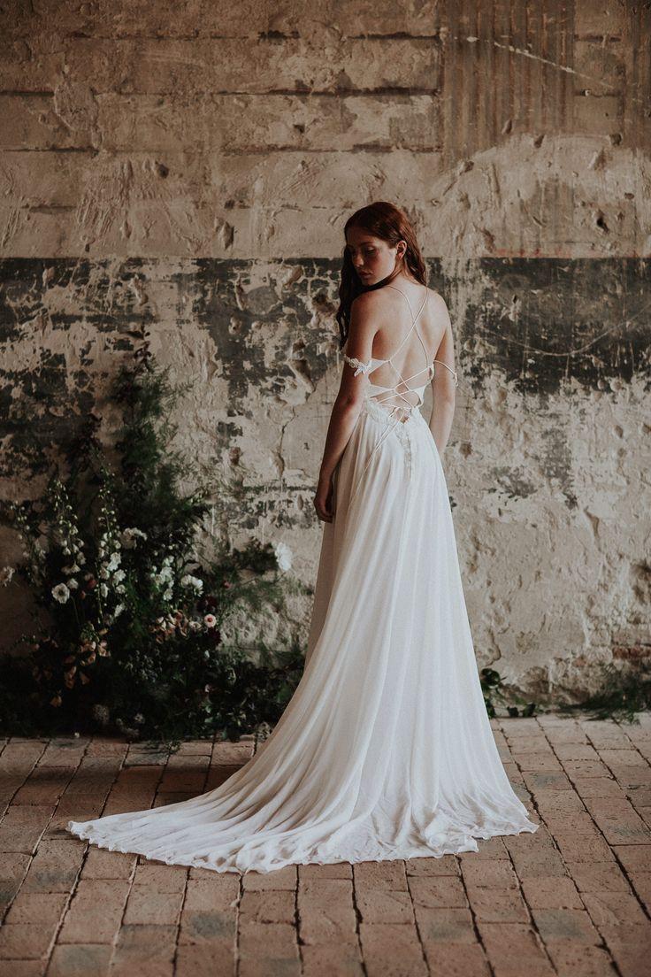 The Dove / Nora Sarman Bridal / photo Pinewood Weddings