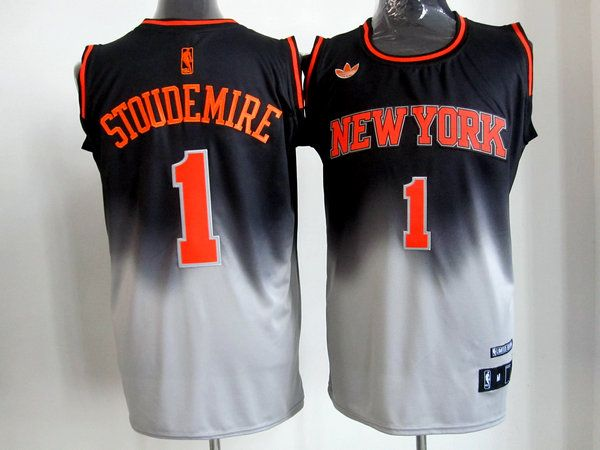 Adidas NBA New York Knicks 1 Amare Stoudemire Fadeaway Fashion Swingman  Jersey 5a6f60bae