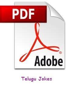 Free download Pdf files: Telugu Jokes