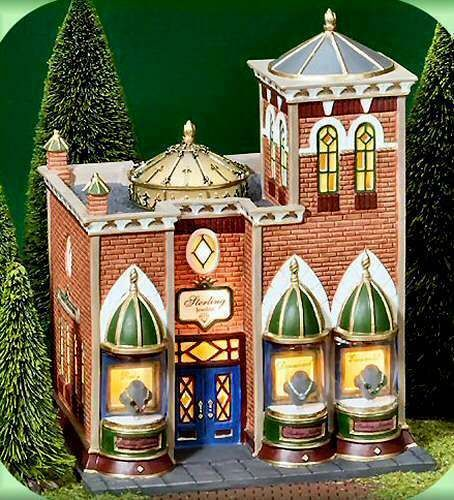 Sterling Jewelers NEW Department Dept. 56 Christmas In The City Village CIC