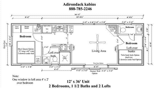 Image result for 14x40 floor plans   Cabin floor plans