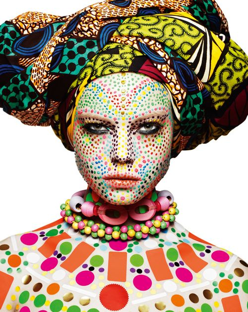 African Pop #popart #africa #hungertv #fashion