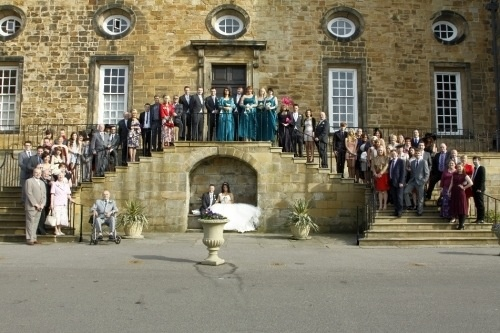 Lumley castle - group shot