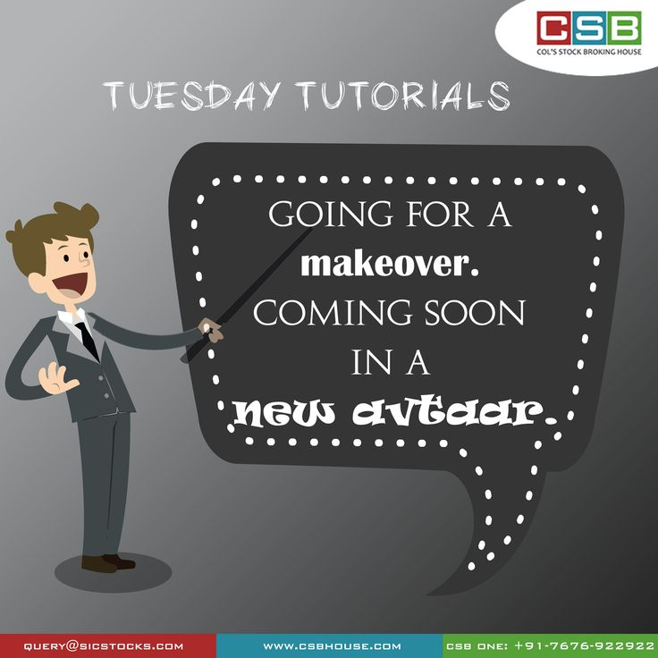 Watch out for our all new Tuesday Tutorial, coming soon..  and on a new day!
