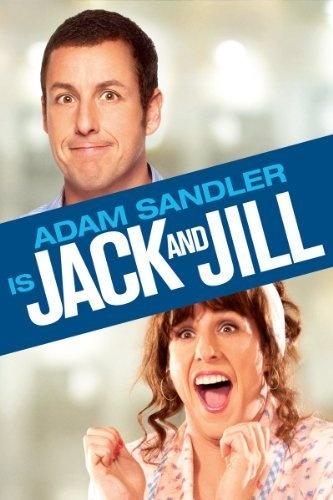 Jack and Jill (Movie) - Jack Sadelstein (Adam Sandler) has his normal tranquil life turned upside down when his twin sister Jill (also Adam Sandler) arrives for visit. Starring: Adam Sandler, Katie Holmes