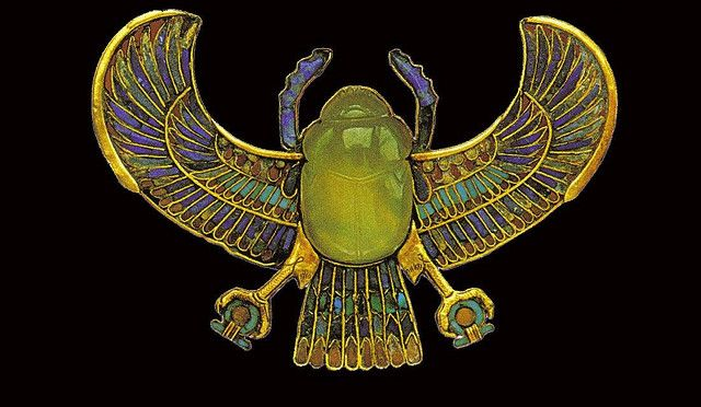 Ancient Egyptian Glass Jewellery