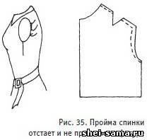 Дефекты посадки плечевых изделий и их устранение - Делаем выкройки на любую фигуру - Всё о шитье