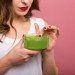 Mascarilla de espinacas para nutrir la piel seca