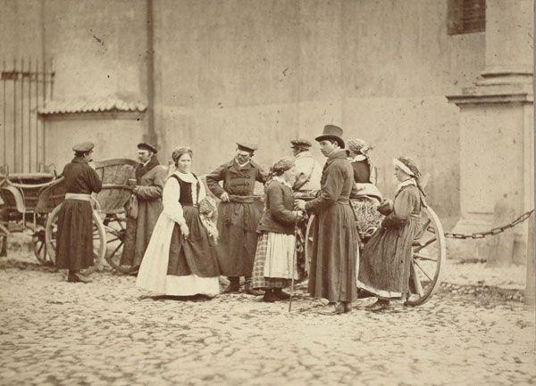 polish peasants, Warsaw 1866