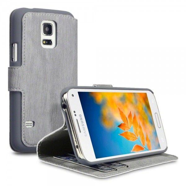Θήκη Πορτοφόλι Samsung Galaxy S5 mini by Covert - (117-002-718) Γκρι - myThiki.gr - Θήκες Κινητών-Αξεσουάρ για Smartphones και Tablets - Χρώμα Γκρι
