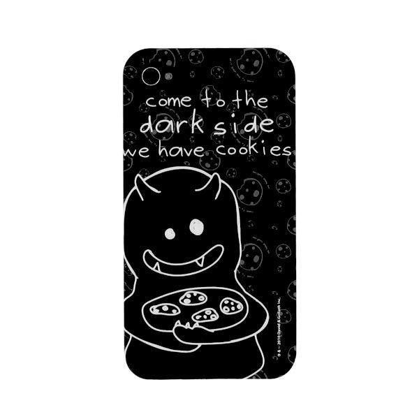 Давид и Голиаф Темная сторона iPhone 4 Cover - Телефоны Обложки -... ($32) ❤ liked on Polyvore