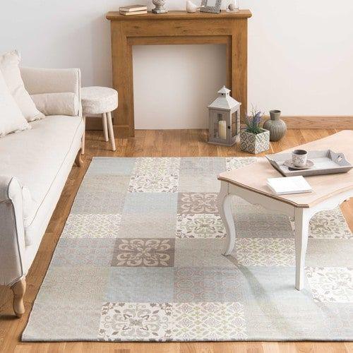 Provence - Tapis motifs carreaux de ciment 160 x 230 cm
