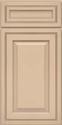 Kraftmaid cabinets square raised panel solid crm for Dove white cabinets with cocoa glaze
