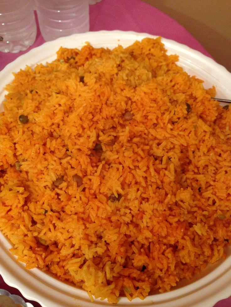 Moro de guandules (rice with coconut milk & pigeon peas) homemade