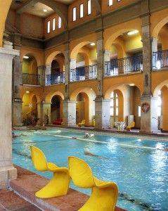 Rudas Bath Swimming Pool Hall