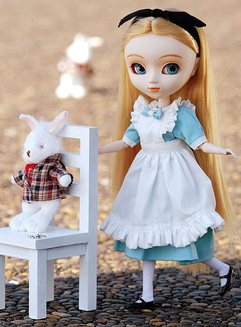 "This is an Asian doll named ""Pullip"" which I really love.  I have way too many of them.  This is Alice, my first and my favorite (shhh don't tell the rest)... ;)"