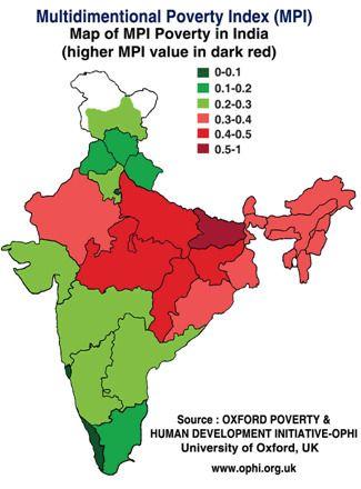 2015. Mapa de la pobreza. http://hdr.undp.org/en/countries/profiles/IND