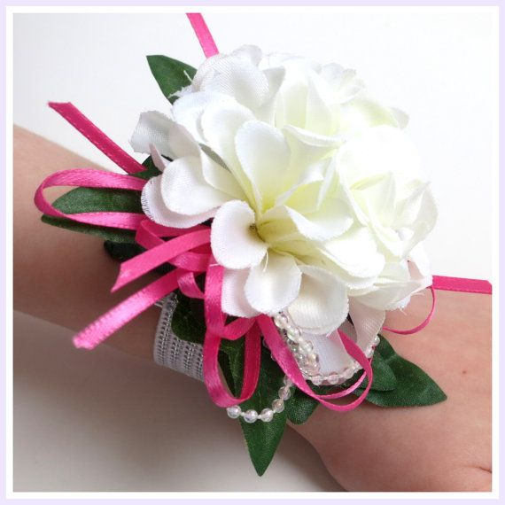 Faux Corsage For Little Girl  by WeddingsAndWreaths on Etsy