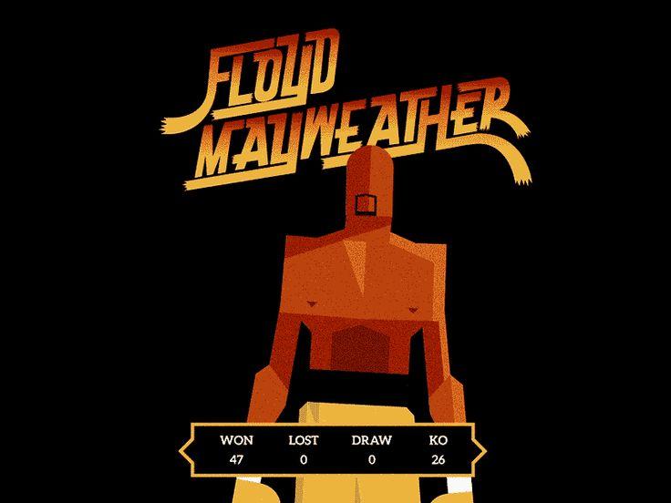Floyd 'Money' Mayweather by R A D I O