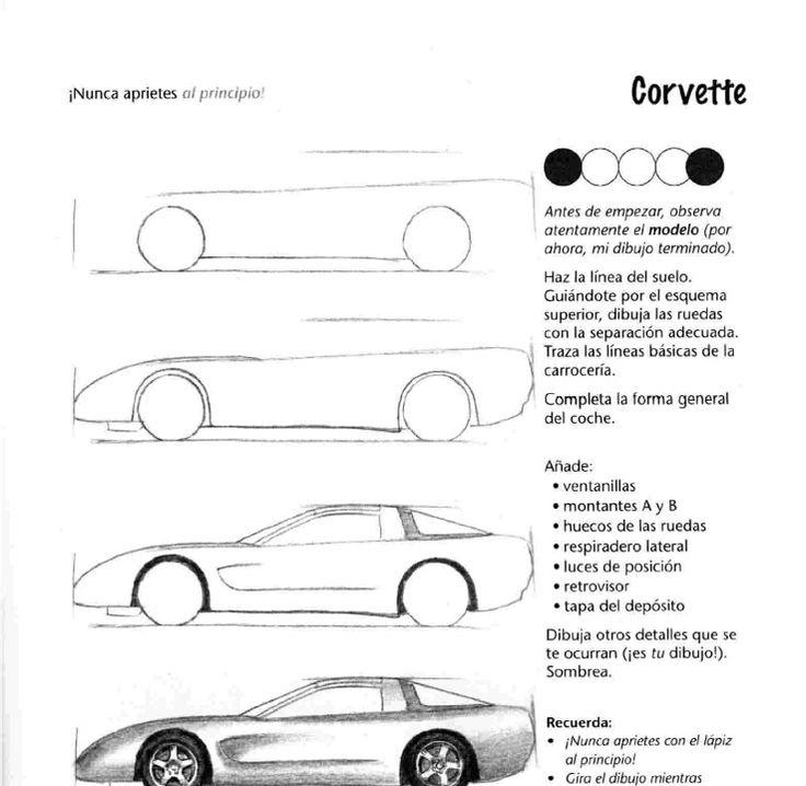 Ms de 25 ideas increbles sobre Cmo dibujar coches en Pinterest