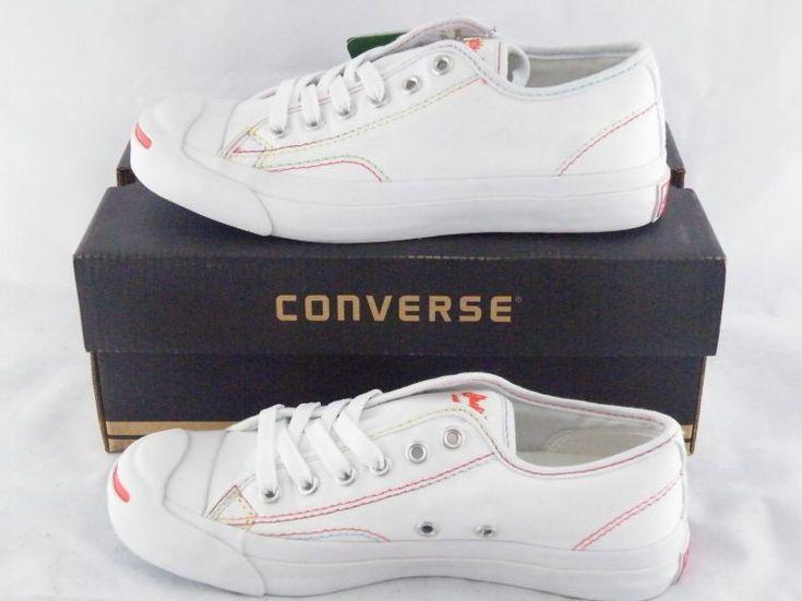 Girls Converse Jack Purcell CP White Orange #converse